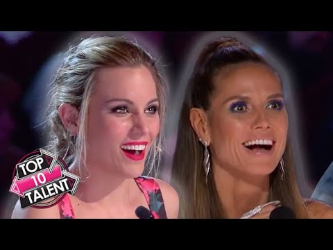 10 INCREDIBLE RAP Auditions On Got Talent X Factor And Idol