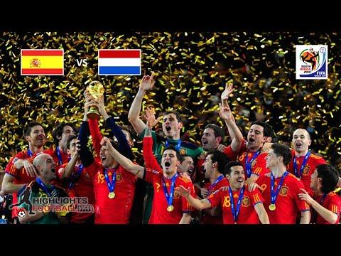 FIFA World Cup Final 2010, Spain vs Netherlands 1-0, All Goals Highlights Full HD