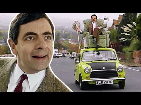 ARMCHAIR Bean, Funny Clips, Mr Bean Official
