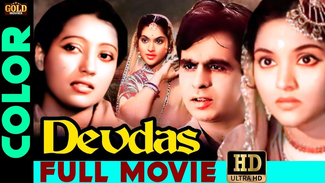 Devdas 1955 Super Hit Classic Movie HD, देवदास, Dilip Kumar, Vyjayanthimala, Color