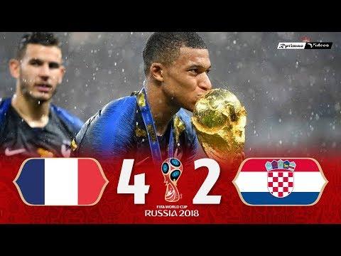 France VS Croatia, 2018 World Cup Final Extended Goals, Highlights HD