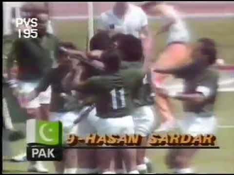 Pakistan v Germany Hockey Olympic Final 1984, Complete HIGHLIGHTS