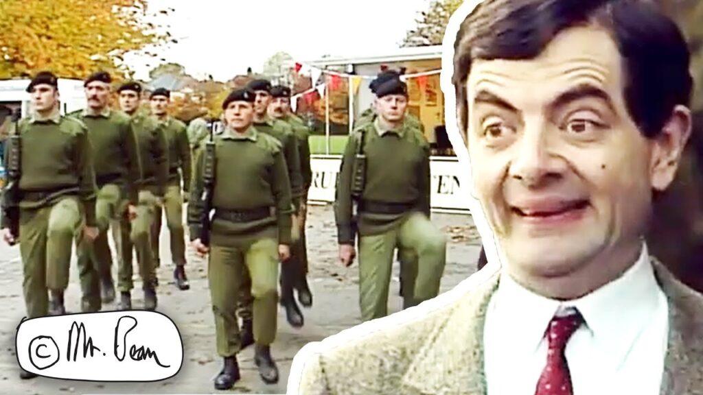 ARMY Bean, Mr Bean Full Episode, Mr Bean Official