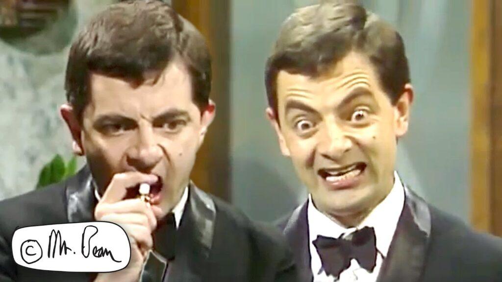 Beans TEETH Routine, Mr Bean Funny Clips, Mr Bean Official