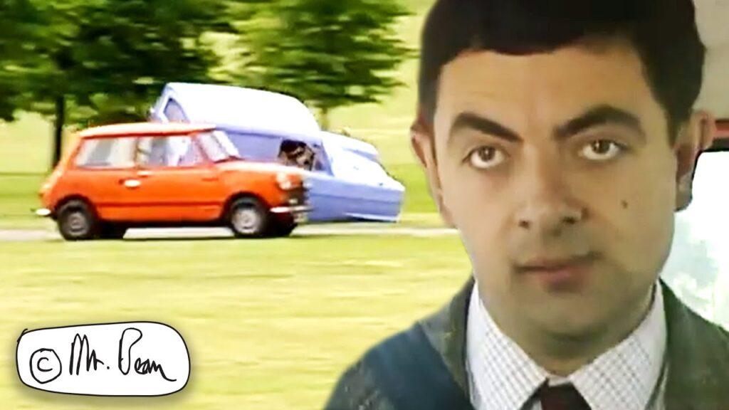 CAR RACE Mr Bean Full Episode, Mr Bean Official