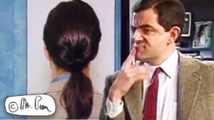 CHOOSING a New Hairstyle, Mr Bean Full Episode, Mr Bean Official