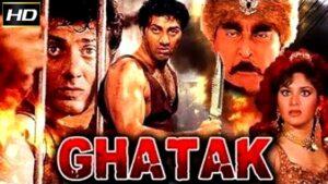 Ghatak Hindi Action Movie, Sunny Deol, Meenakshi Sheshadri, Amrish Puri, Danny Denzongpa, 1996