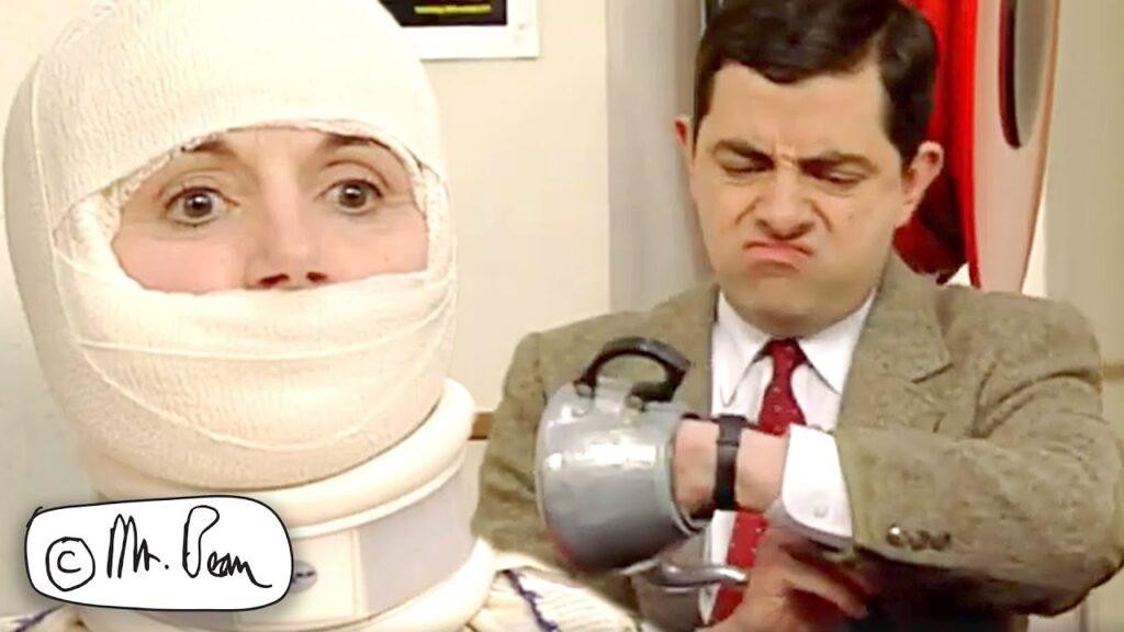 HOSPITAL Bean, Mr Bean Funny Clips, Mr Bean Official
