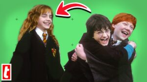 Harry Potter Bloopers And Cutest On-Set Moments 15