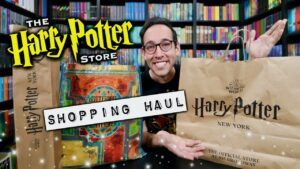 Harry Potter Store New York Merchandise Haul, See What I Bought