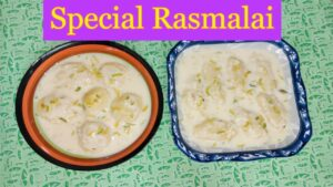 How To Make Perfect Ras Malai, Ras Malai Banane ka Asan Tarika, Ras Malai With Milk Powder Recipe