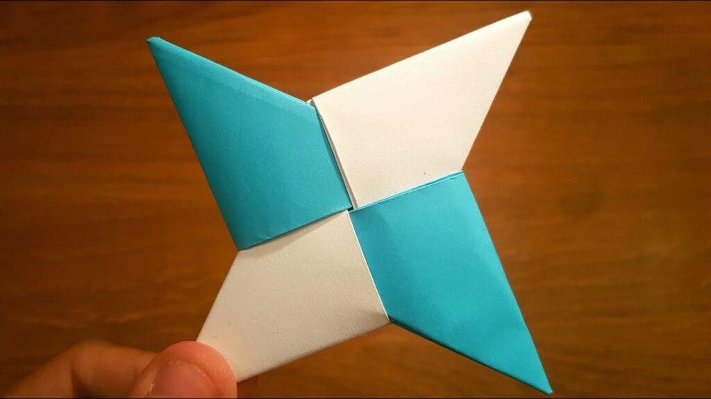 How to Make Paper Ninja Stars, Shuriken, Origami, Remake