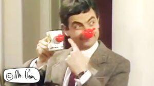 On A SPONSORED Silence, Mr Bean Comic Relief, Mr Bean