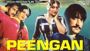 PEENGAN Pakistani Full Movie, Anjuman, Saud, Sana, Babu Ali, Irfan Khoosat, Sardar Kamal