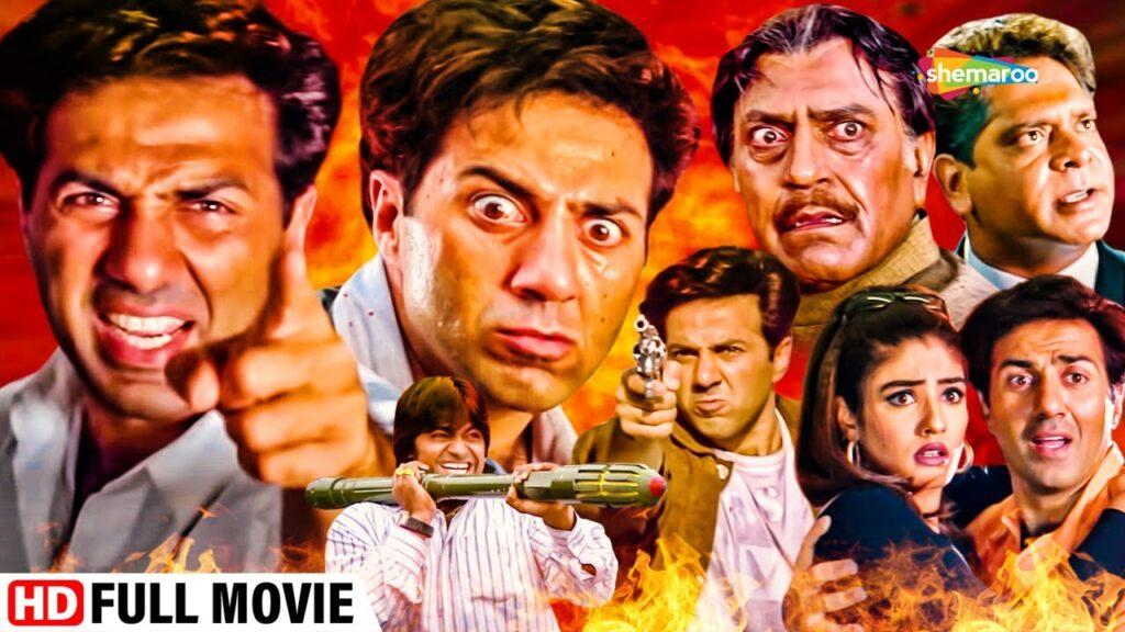 Salaakhen Full Movie, Action Blockbuster, Sunny Deol, Amrish Puri, Raveena Tandon
