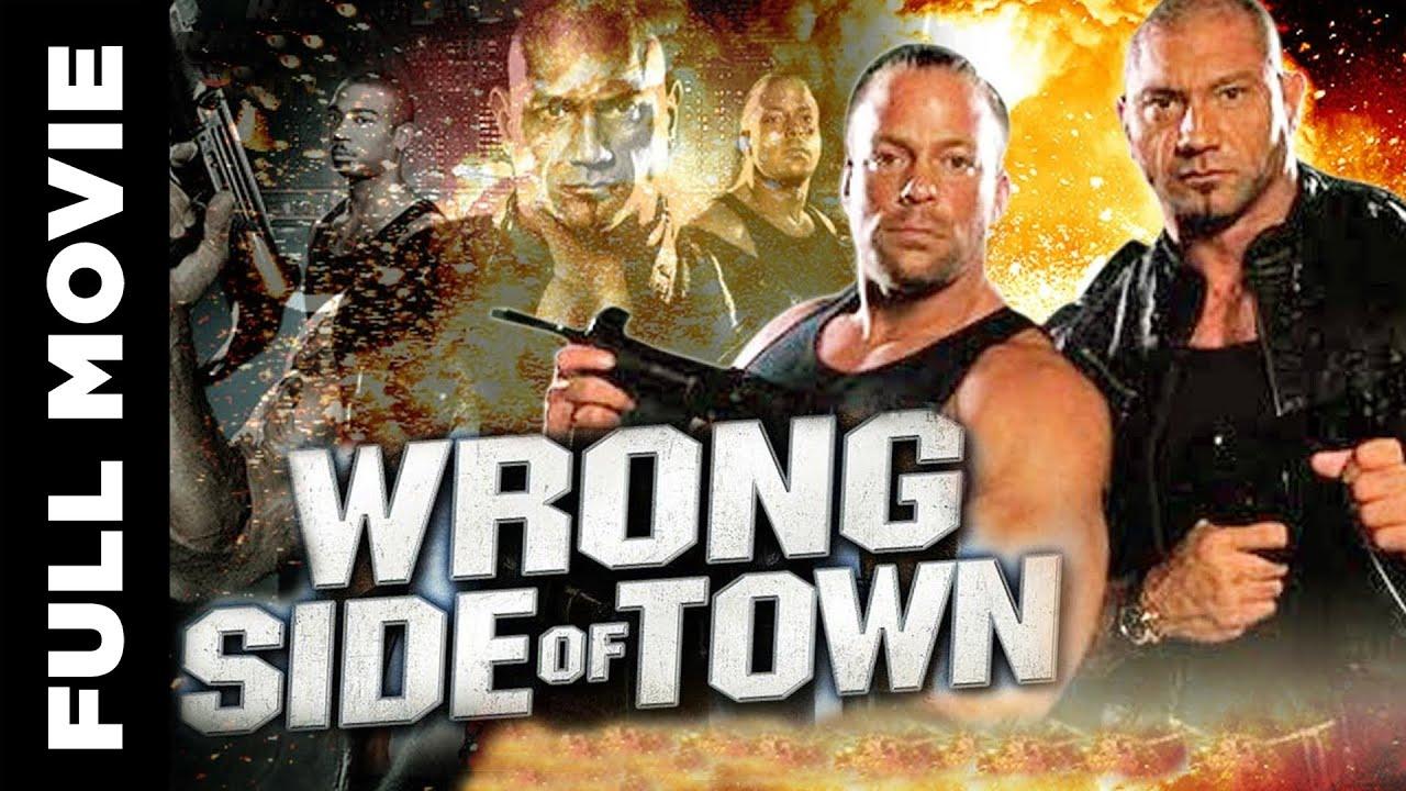 Wrong Side Of Town 2010, Superhit Action Movie, Rob Van Dam, David Bautista