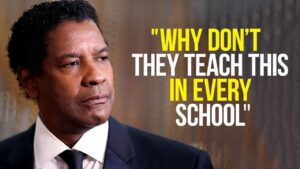 Denzel Washington Speech Will Leave You SPEECHLESS, One of the Most Eye Opening Speeches Ever