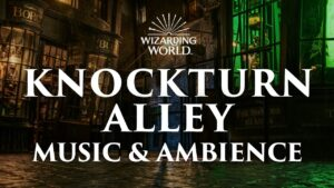 Knockturn Alley, Harry Potter Music And Ambience, Chilling Music with Spooky Ambience and Rainstorms